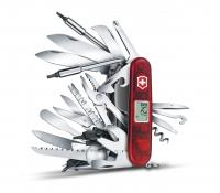 Нож VICTORINOX SwissChamp XAVT 91мм 81 функция цв. красный (в подарочной уп.)
