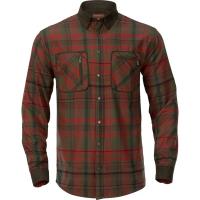 Рубашка HARKILA Pajala Shirt цвет Red Autumn Check