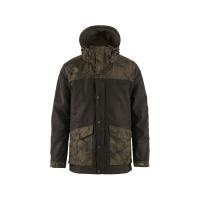 Куртка FJALLRAVEN Varmland Wool Jacket M цвет Dark Olive-Dark Olive Camo
