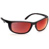 Очки солнцезащитные MAKO Blade цв. Black цв. стекла Glass Grey HD Red Mirror