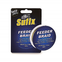 Плетенка SUFIX Feeder Braid Gore Olive Green 100 м 0,08 мм цв. Оливковый