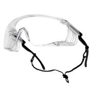 Очки открытые BOLLE SQUALE прозрачная линза (очки на очки)