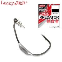 Крючок офсетный LUCKY JOHN Predator LJH357 № 4/0 (3 шт.)
