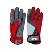 Перчатки RAPALA Performance цвет Красный / серый / черный