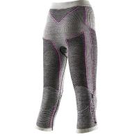 Термобрюки X-BIONIC Apani Merino By Lady Uw Pants Long цвет Черный / Серый / Розовый