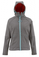 Куртка SIMMS Women's Rogue Fleece Hoody цвет Iron
