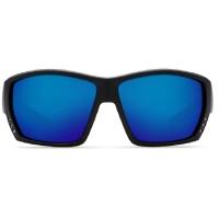 Очки COSTA DEL MAR Tuna Alley 580 GLS W р. L цв. Matte Black Global Fit цв. ст. Blue Mirror превью 2