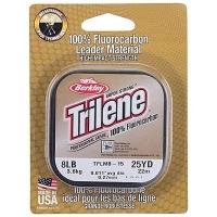 Флюорокарбон BERKLEY Trilene 100% Fluorocarbon 22 м 0,15 мм цв. Clear