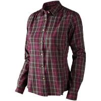 Рубашка SEELAND Pilton Lady Shirt цвет Raisin check 14020707705 превью 1