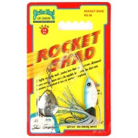 Спинербэйт STRIKE KING Rocket Shad 10,5 г (3/8 oz) цв. blue shad