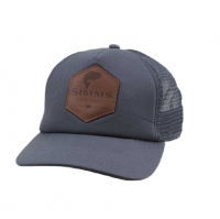 Кепка SIMMS Leather Patch Trucker цв. Anvil