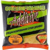 Добавка GREEN FISHING Pastoncino Сухарь Желтый 0,4 кг