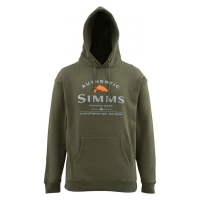 Толстовка SIMMS Badge of Authenticity цвет Olive