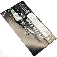 Блесна колеблющаяся TICT Maetel Mini 3,5 г цв. zebra silver