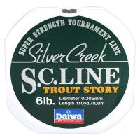 Леска DAIWA Silver Creek S.C. LINE TROUT STORY 6LB-100 / 0,205 мм 100 м