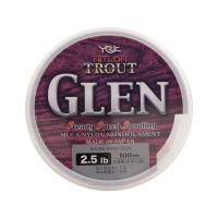 Леска YGK Nitlon Trout Glen 100 м цв. Золотой # 0,1