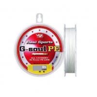 Плетенка YGK G-soul PE 150 м цв. Прозрачный # 0,6