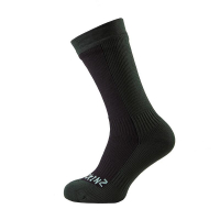 Носки SEALSKINZ Hiking Mid Mid Sock цвет Black / Racing Green