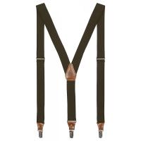 Подтяжки FJALLRAVEN Singi Clip Suspenders цв. Dark Olive