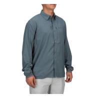 Рубашка SIMMS Bugstopper Intruder BiComp LS Shirt '21 цвет Storm превью 7