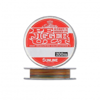 Плетенка SUNLINE PE Jigger ULT 8braid 200 м цв. Многоцветный 0,165 мм