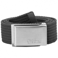 Ремень FJALLRAVEN Merano Canvas Belt цвет Dark Grey