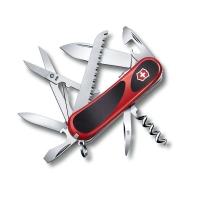 Нож VICTORINOX Evolution S17 85мм 15 функций цв. красный
