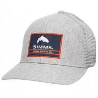 Кепка SIMMS Original Patch Trucker цв. Heather Grey р.