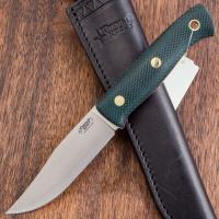 Нож ЮЖНЫЙ КРЕСТ Fox S конвекс сталь D2 рукоять Микарта Изумруд/насечка