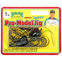 Бактейл STRIKE KING Pro-Model Jig 28 г (1 oz) цв. camouflage