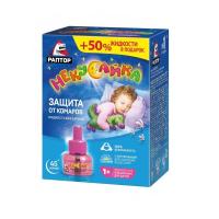Жидкость РАПТОР Некусайка от комаров 45 ночей для детей