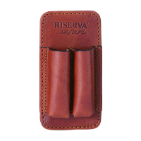 Подсумок RISERVA R5110 2 патрона (300/375 клб) кожа