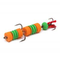 Мандула LEX Premium Creative 70 D13 оранжевый / зеленый / оранжевый