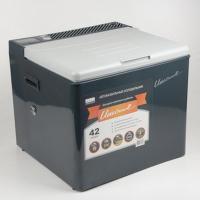 Холодильник электрогазовый CAMPING WORLD Unicool DeLuxe 42 л автомобильный