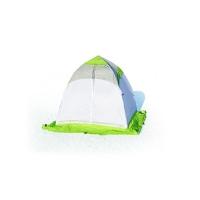 Палатка ЛОТОС-ТЕНТ Lotos 1 одноместная цвет Серый / Салатовый