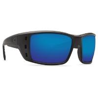 Очки COSTA DEL MAR Permit 580 P р. XL цв. Blackout цв. ст. Blue Mirror