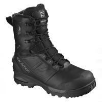 Ботинки SALOMON Toundra Pro CSWP цвет Black / Black / Magnet