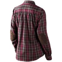 Рубашка SEELAND Pilton Lady Shirt цвет Raisin check 14020707705 превью 2