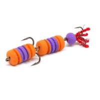 оранжевый / фиолетовый / оранжевый