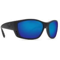 Очки COSTA DEL MAR Fisch 580 GLS р. XL цв. Blackout цв. ст. Blue Mirror