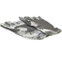 Перчатки SIMMS Solarflex Guide Glove цвет Hex Flo Camo Steel превью 6
