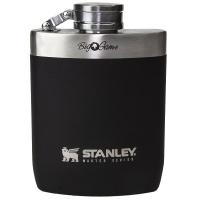 Фляжка STANLEY Master 0,23 л с гравировкой цв. черный