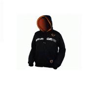 Толстовка SAVAGE GEAR Hooded Sweat J цвет Черный / оранжевый
