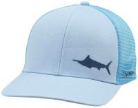 Кепка SIMMS Payoff Trucker цв. Marlin Grey Blue