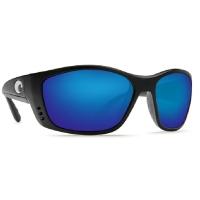 Очки COSTA DEL MAR Fisch 580 P р. XL цв. Black цв. ст. Blue Mirror