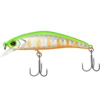 Воблер JACKALL TIMON Tricoroll Ryushin 63HW цв. lime yamame