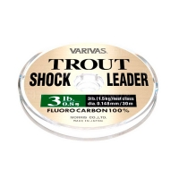 Флюорокарбон VARIVAS Trout Shock Leader 30 м # 1,2