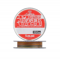 Плетенка SUNLINE PE Jigger ULT 4braid 200 м цв. Многоцветный 0,148 мм