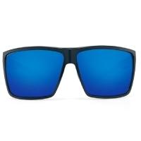 Очки COSTA DEL MAR Rincon 580 GLS р. XL цв. Shiny Black цв. ст. Blue Mirror превью 3