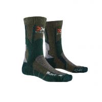 Носки X-BIONIC X-Socks Hunt Short Socks цвет Оливковый / Хвойный